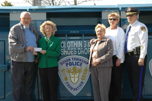 TR Police Foundation Clothing Drop-Off